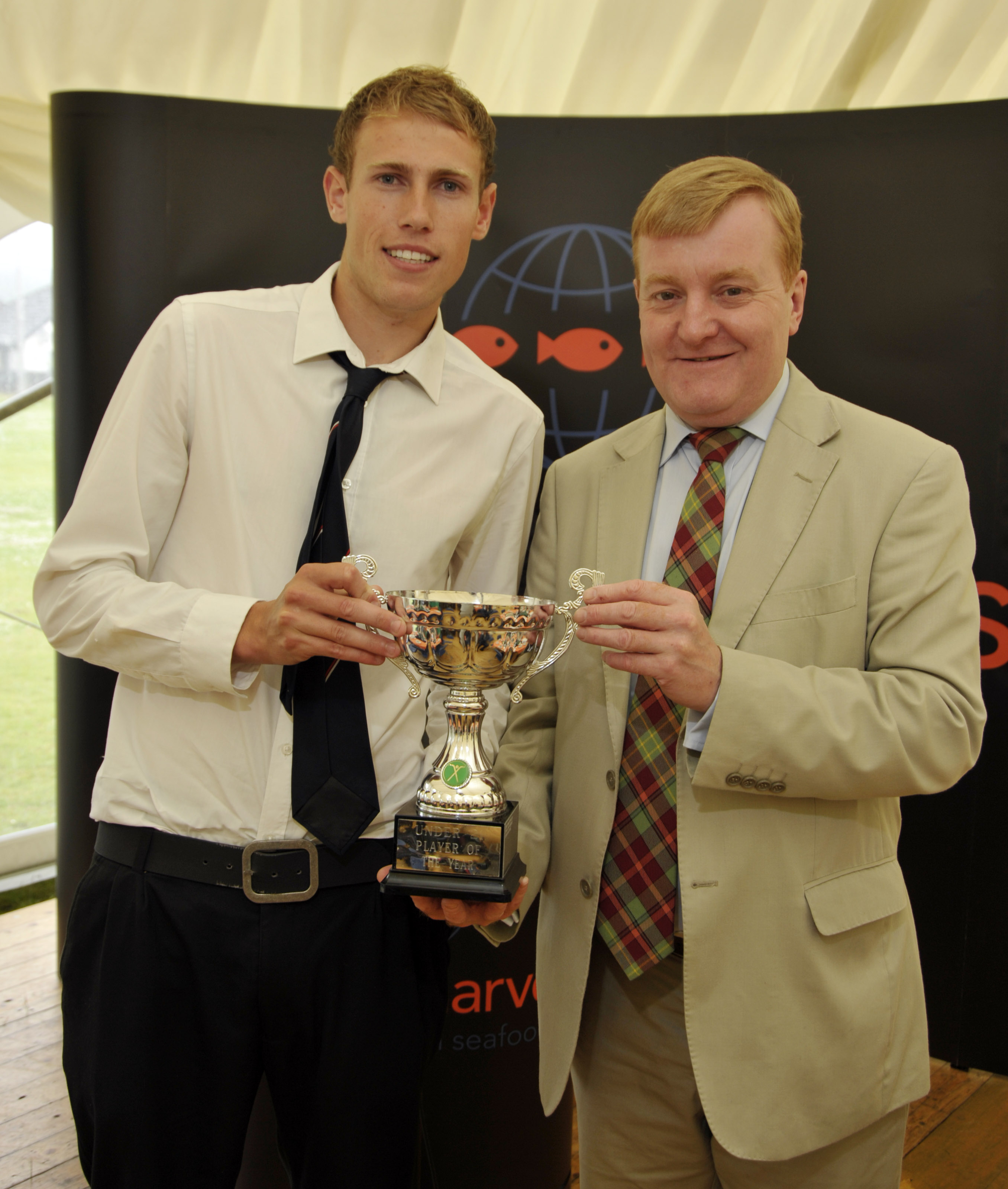 2009 Marine Harvest U21 Player of the Year – Grant Irvine.