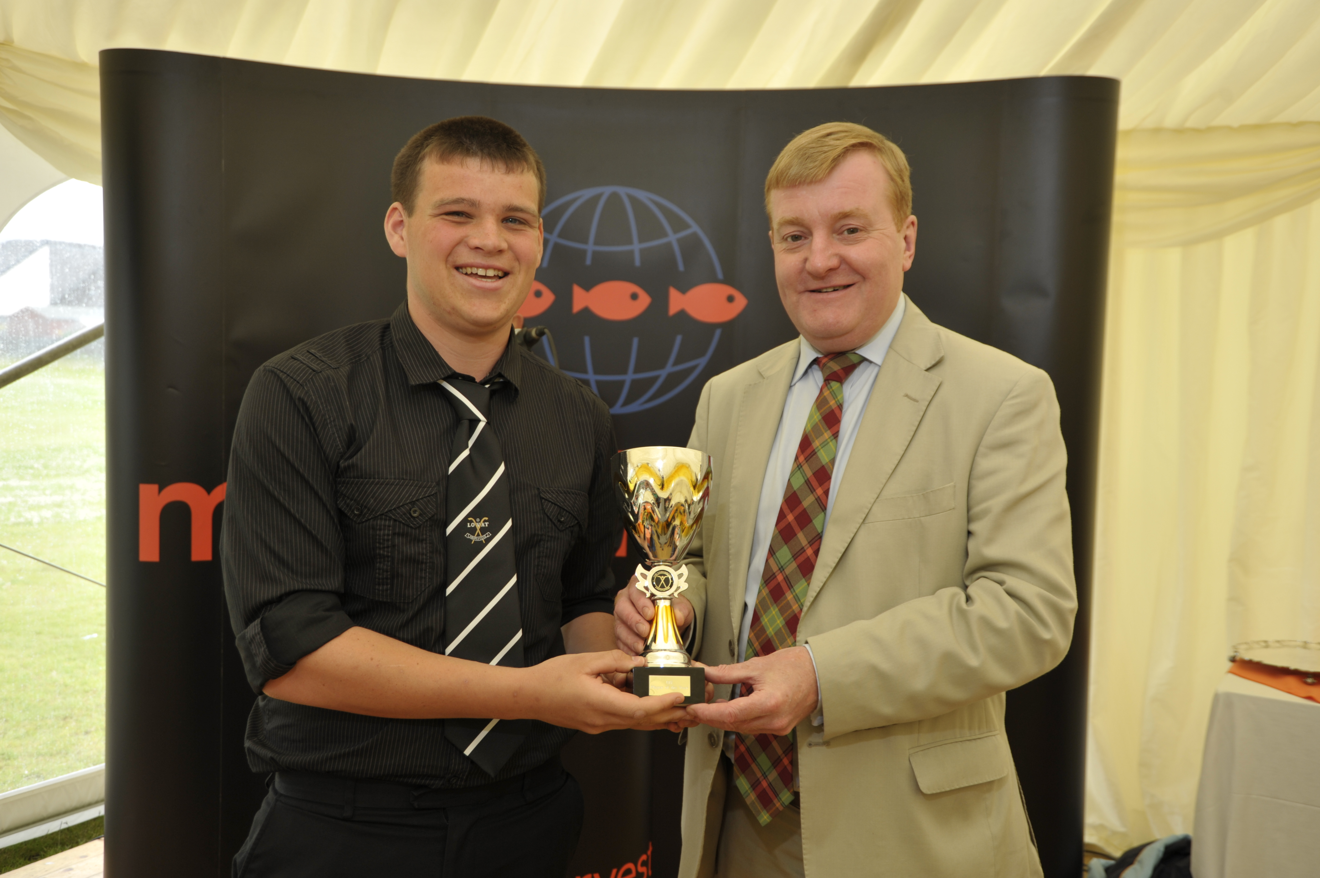 2009 Marine Harvest U17 Player of the Year – Greg Matheson.