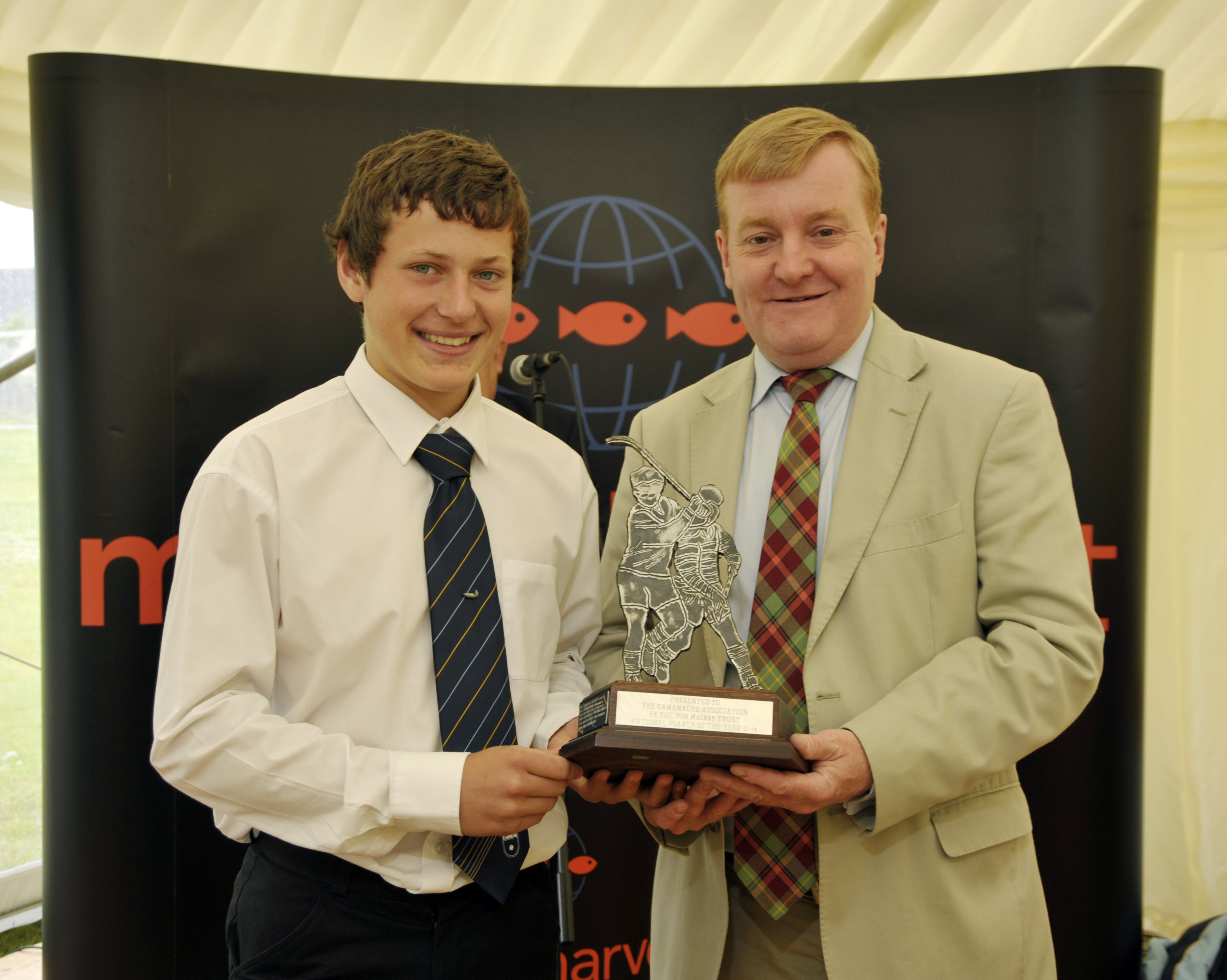 2009 Marine Harvest U14 Player of the Year – Finlay MacMillan.