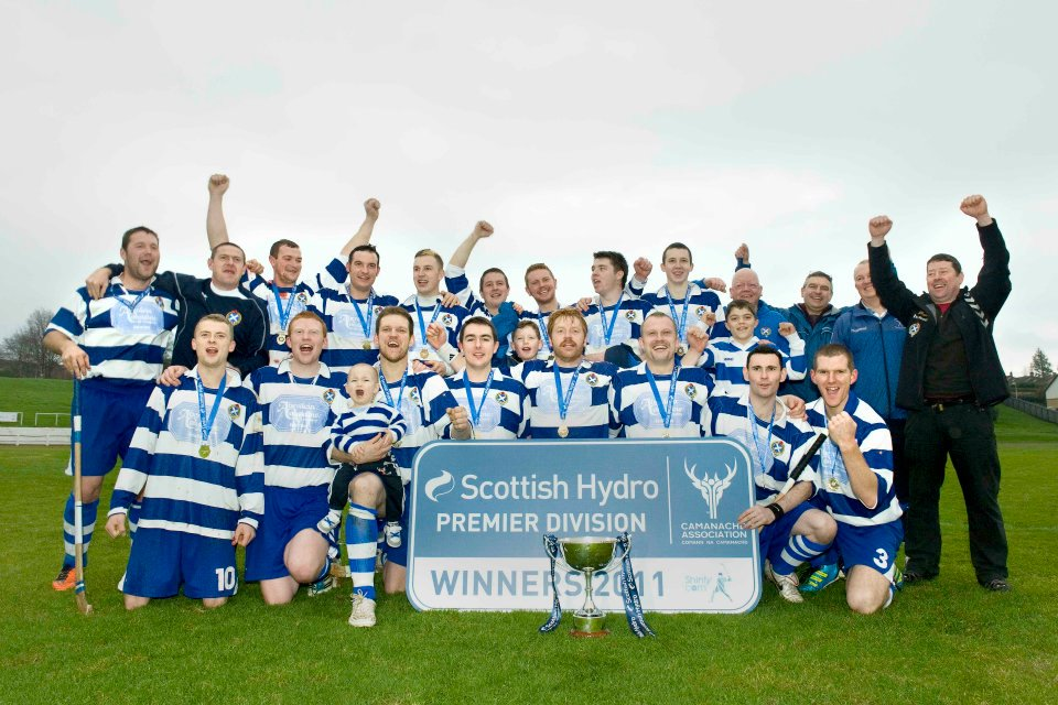 Champions Newtonmore Reveal Secret Weapon.