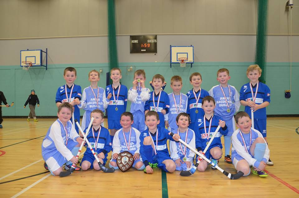Portree & North End Are Winners At Isle of Skye Primary Schools Camanachd Association - Annual First Shinty Tournaments