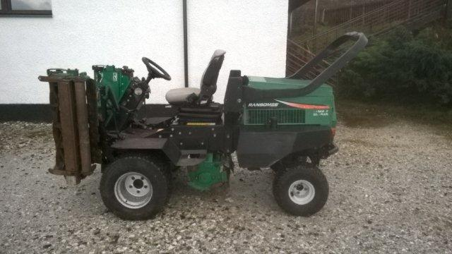 Skye Camanachd Take Delivery Of New Mower