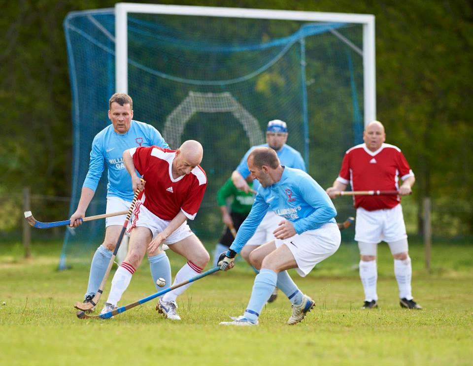 Alzheimer Scotland Wins At Veterans' Charity Shinty Match