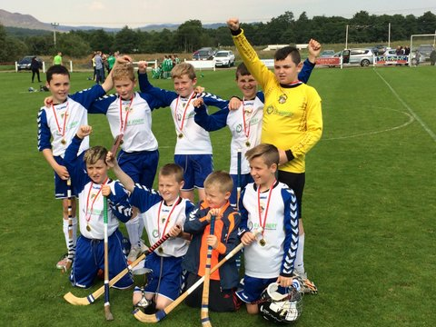 Portree Primary School Win Kingussie Camanachd Club Primary School Sixes