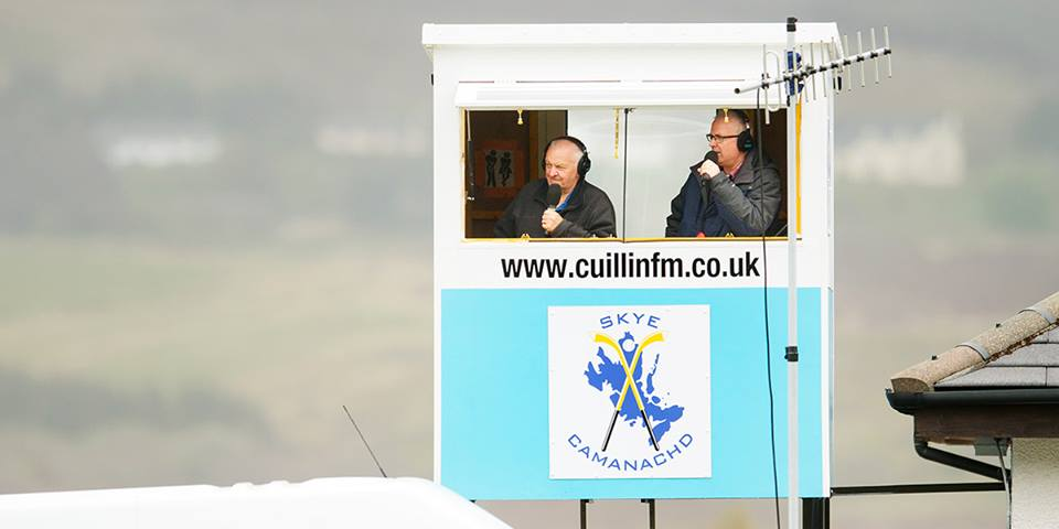 Photo: 2018 Cuillin FM Shinty Coverage – Camanachd LIVE!