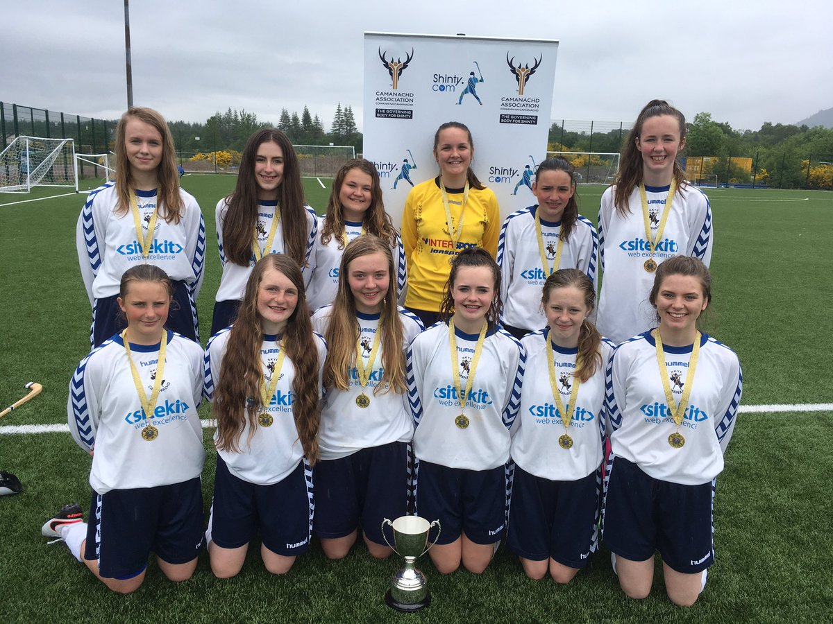 Portree High School Are Girls 2016 League Finals Winners