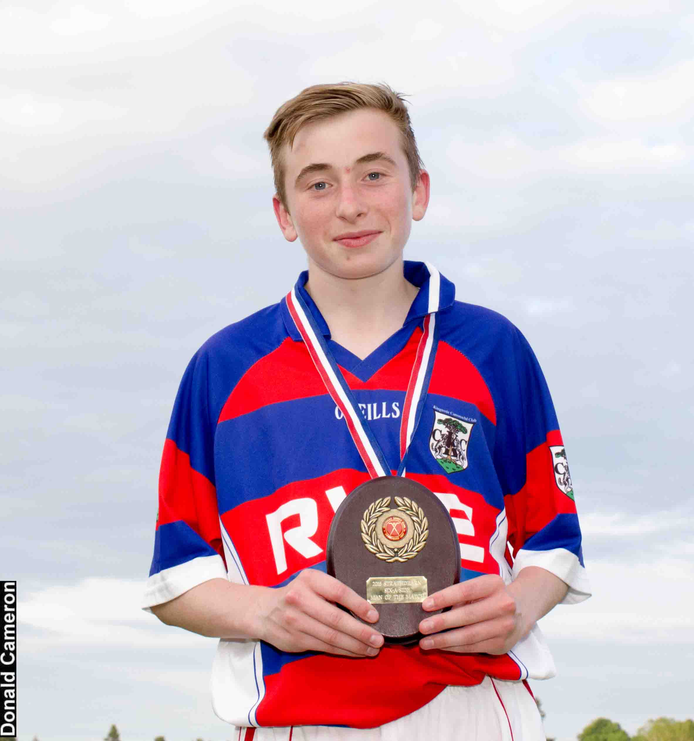 Kingussie U17's Ruaridh Anderson Named 2016 Strathdearn Sixes Player of the Tournament
