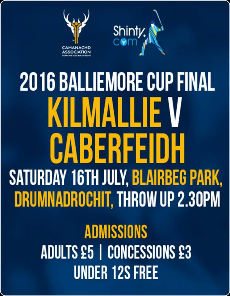 2016 Balliemore Cup Final ............. TODAY!