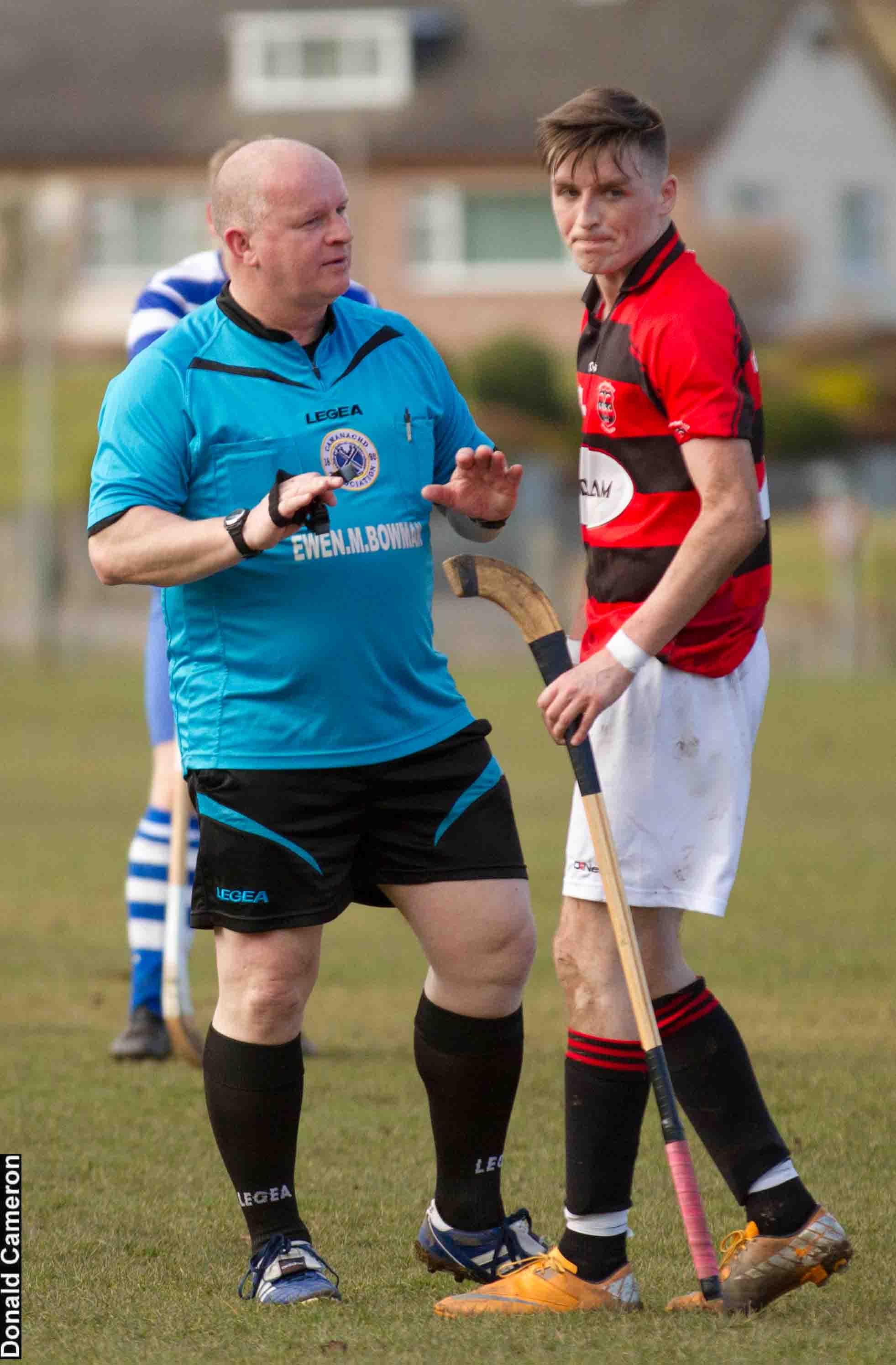 Photo: Skye Referee In Action