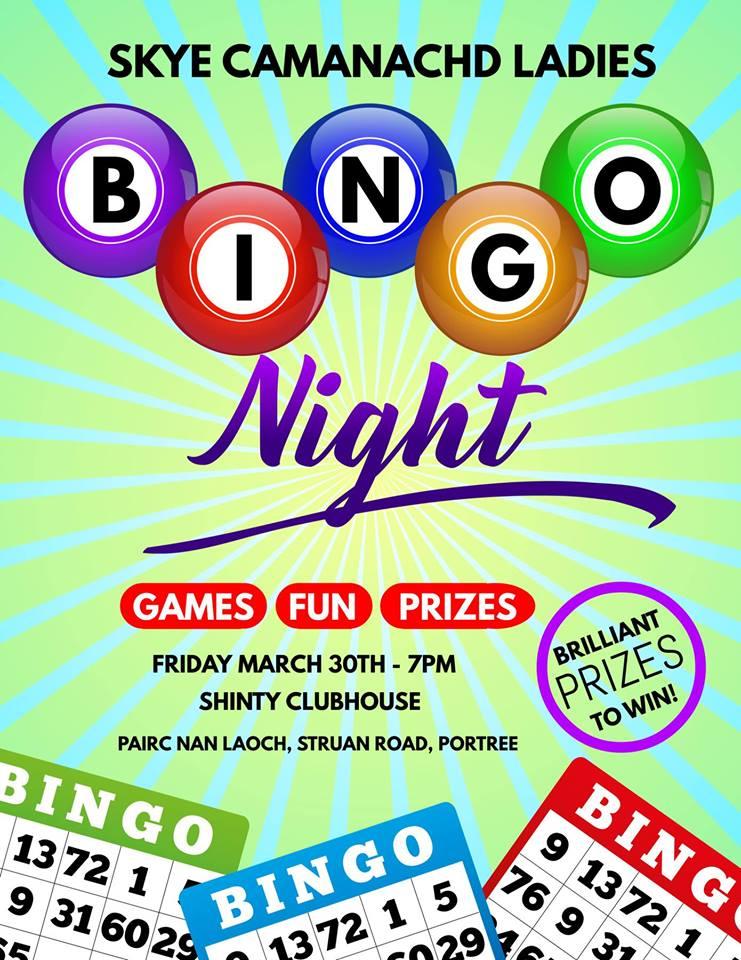 Bingo Night!!