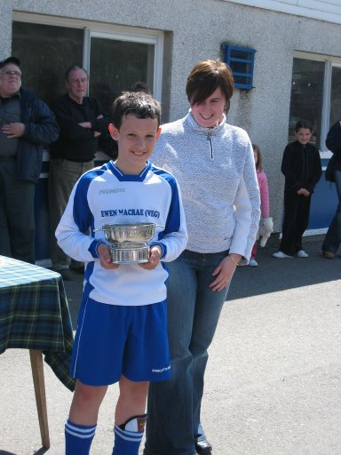 William Cowie Man of the Match